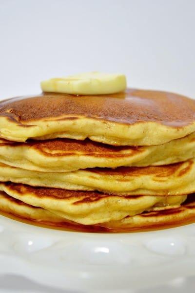 peanut powder pancakes