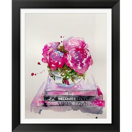 Fashion+Framed+Print