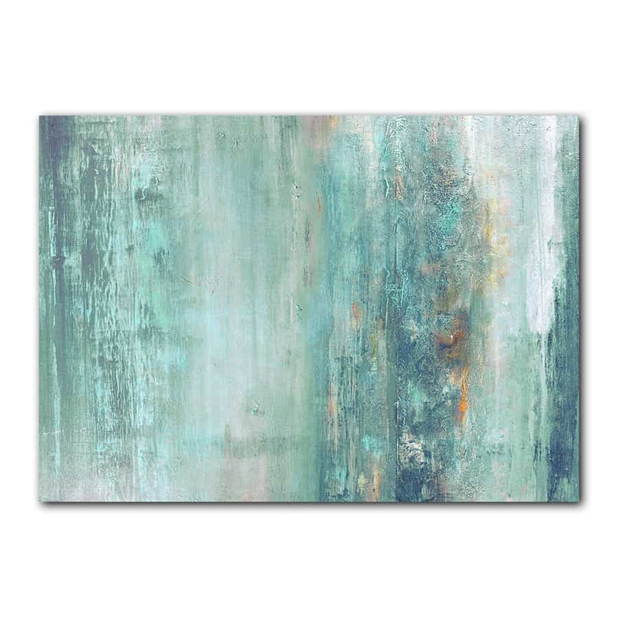 The best sites for affordable wall art for Blue paintings on canvas