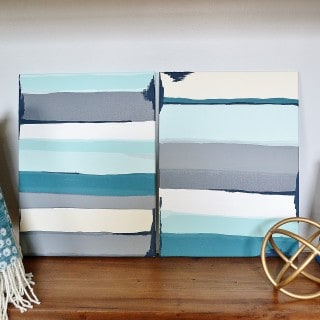 DIY Wall Art Tutorials {On Canvas!}