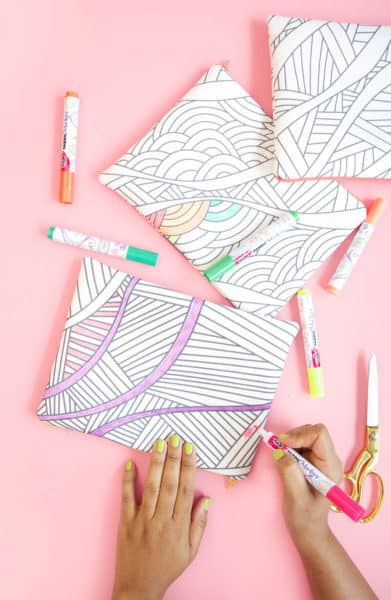 coloring crafts