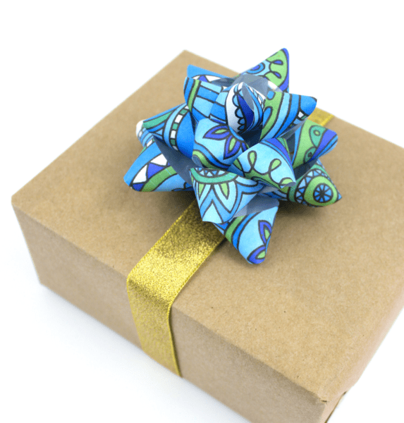 gift bow tutorial