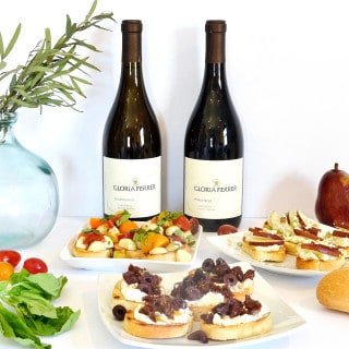 spring entertaining with easy crostini recipes and gloria ferrer