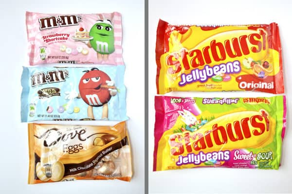 mars candy products