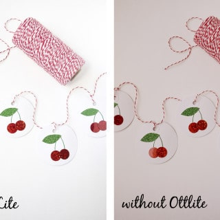 nighttime crafting with ottlite lighting {and a giveaway!}