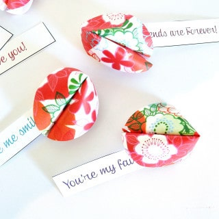diy paper fortune cookies {a tutorial}