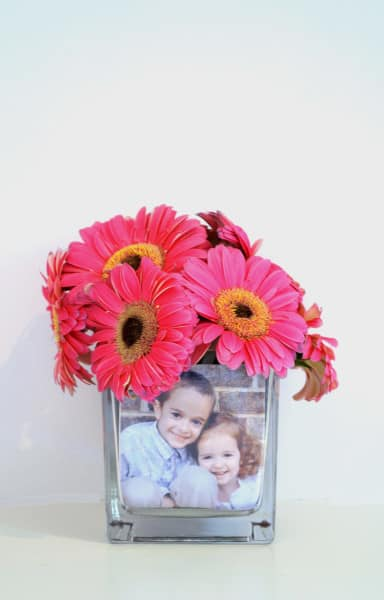 make photo vase
