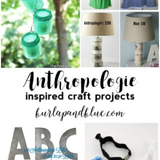 Anthropologie Inspired DIY Projects