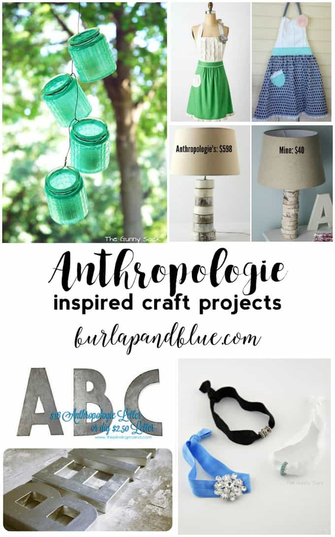 Anthropologie Inspired Crafts and Decor