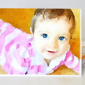 Custom Watercolor Art