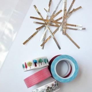 washi tape twist ties {a tutorial}
