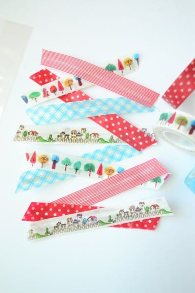 washi twist ties