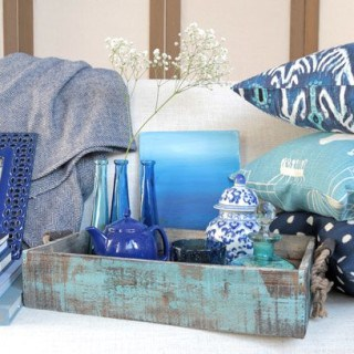 endlessly indigo {5 easy ways to add this must-have color to your home decor}
