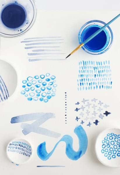 diy-hand-painted-indigo-clay-bowls-1