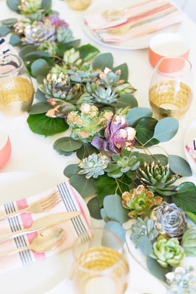 diy-mixed-metals-succulent-table-runner7