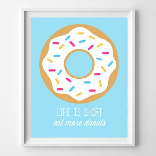 new donut favorites {and free printables!}