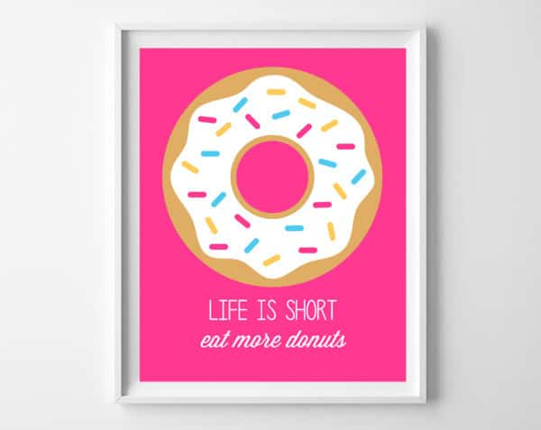 donuts printable