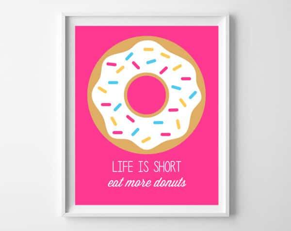donuts printable