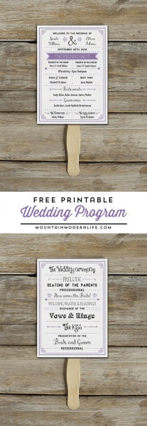 free-printable-diy-vintage-rustic-wedding-program-template-mountainmodernlife.com_