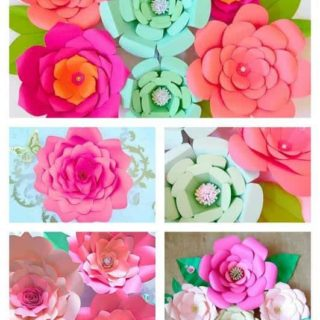 How to make easy DIY giant paper flowers
