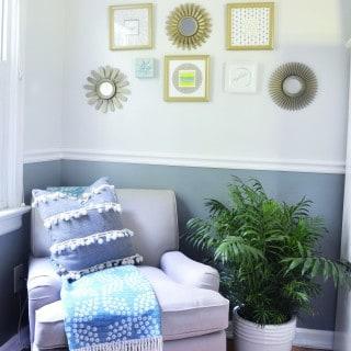 bedroom reveal with VALSPAR ZERO VOCᵻ
