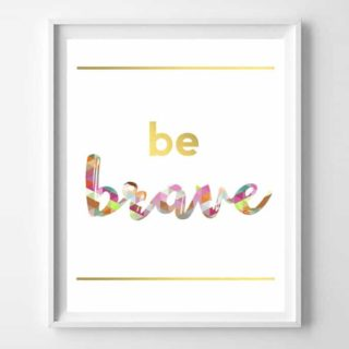 free inspirational printables {6 designs}