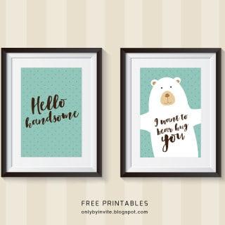 50 free printables {for boys}