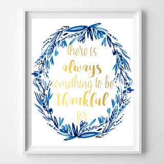 "fall ""thankful"" printables {indigo & gold}"