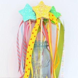 diy glitter wands + $250 Visa gift card giveaway