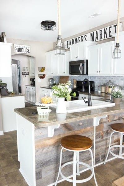 decorating above kitchen cabinets {10 ways}