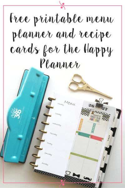 happy planner printable