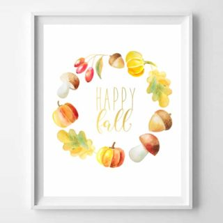 fall printable art {free printables!}