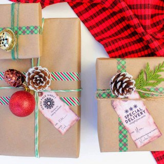 christmas wrapping and packaging inspiration