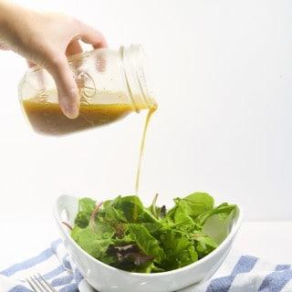 homemade vinaigrette recipe + easy dinners with Michael Angelo's™