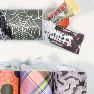 toilet paper roll halloween candy holders {with Walmart}