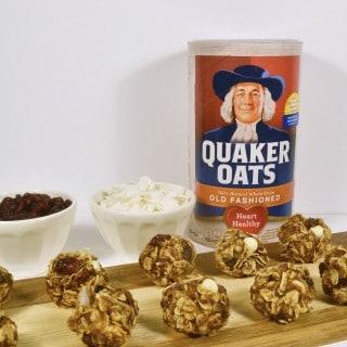 oatmeal recipe idea {oatmeal, cranberry & white chocolate bites}