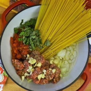 one-pot pasta recipe {easy weeknight meal idea}