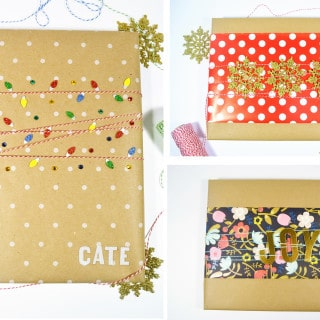 holiday gift wrap ideas with walmart photo + $50 gift card giveaway