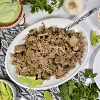 slow cooker carnitas tacos with Smithfield®