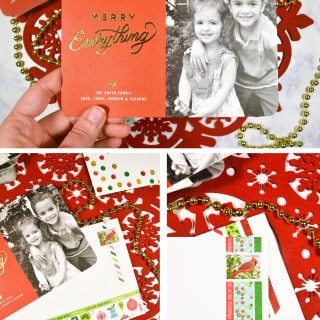 Personalized Holiday Cards with Tiny Prints {and a $100 giveaway!}