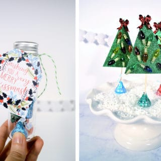 Holiday crafting {and free printables} with The Hershey Company!