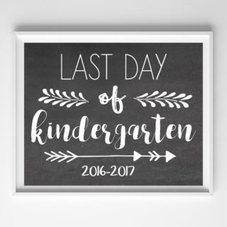 last day school printable