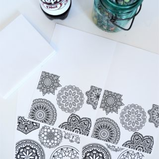 free printable notecards