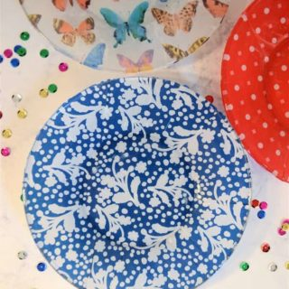 DIY Mod Podged Plates {with MILKA Oreo!}
