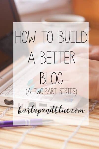 build better blog