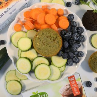 eat your veggies with garden lites muffins