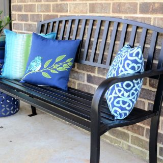 adding curb appeal to our home with lowes