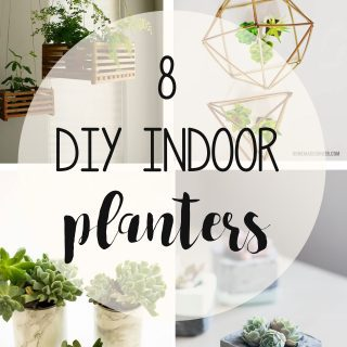 8 Beautiful and Creative DIY Indoor Planters