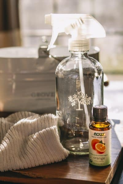 essential oil cleaning recipe