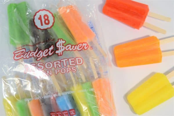budget saver popsicles 8